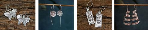 Miao Tribe 99 Silver Earrings