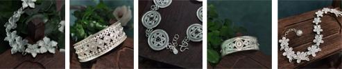 Miao Tribe Filigree 999 Silver Bracelet