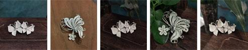 Miao Tribe 999 Silver Brooch