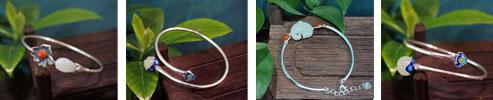 Fine Gemstone Jade Bracelet