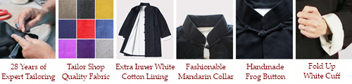 Kung Fu Long Coat