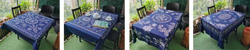 Indigo Chinese Batik Art