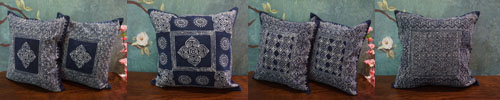 Miao Batik Cushion Cover