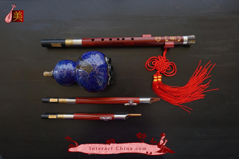 Chinese Flute Hulusi Woodwind